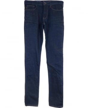 Armani Jeans Dark Blue JO6 Slim Fit Jeans
