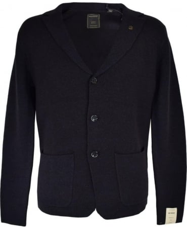 Scotch & Soda Dark Blue Knitwear Jacket