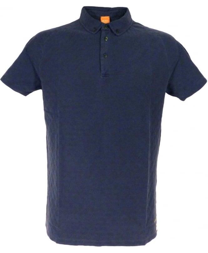 Hugo Boss Dark Blue Paterson-H 50308560 Short Sleeve Polo