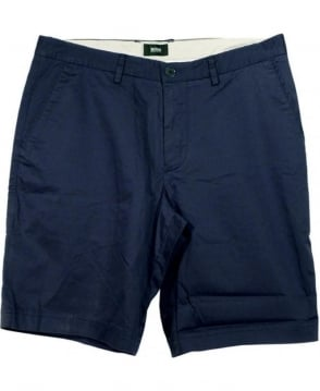 Hugo Boss Dark Blue Regular Fit Clyde1-W Shorts