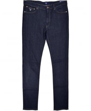 Gant Dark Blue Regular Straight Jean