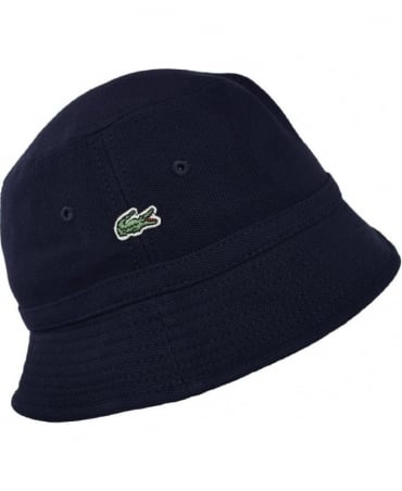 Lacoste Dark Blue RK8490 Bucket Hat