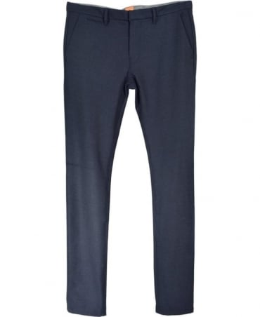 Dark Blue Schino-Slim3-W Trousers