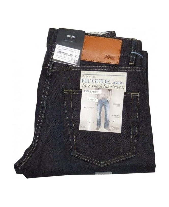 Hugo Boss Dark Blue Scout 1 Jeans