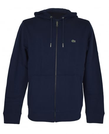 Lacoste Dark Blue SH6958 Hooded Sweatshirt