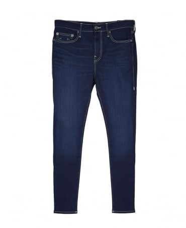 True Religion Dark Blue Skinny Tapered Jeans