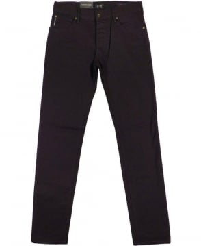 Armani Dark Blue Slim Fit J28 Jeans