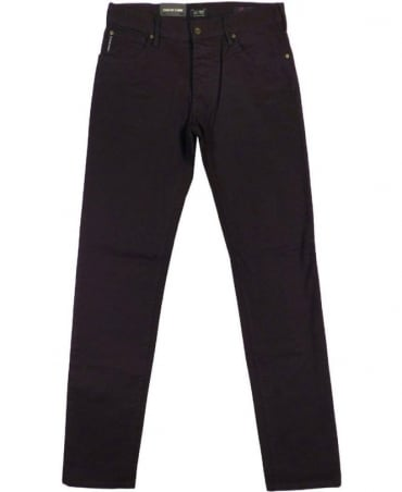 Armani Dark Blue Slim Fit J28 Jeans