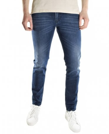 8a545fc9 Dark Blue Slim Thommer 087AS Jean