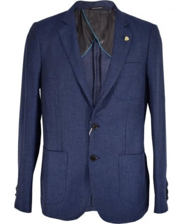 Scotch & Soda Dark Blue Summer Jacket