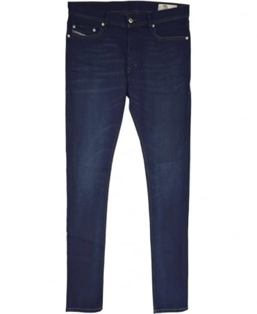 Diesel Dark Blue Tepphar 0857Z Carrot Jeans