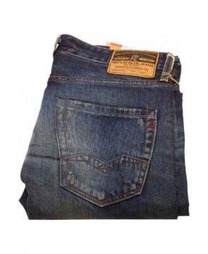 Replay Dark Blue Waitom Laserblast Technology Jeans