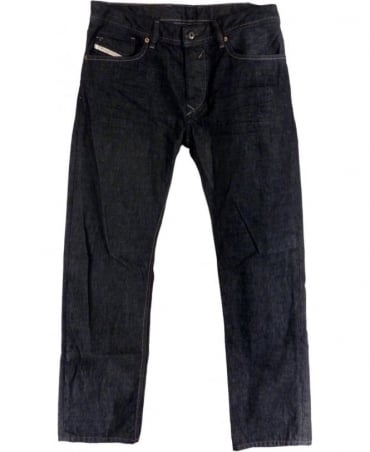 Diesel Dark Blue Waykee 0088Z Regular Fit Jeans