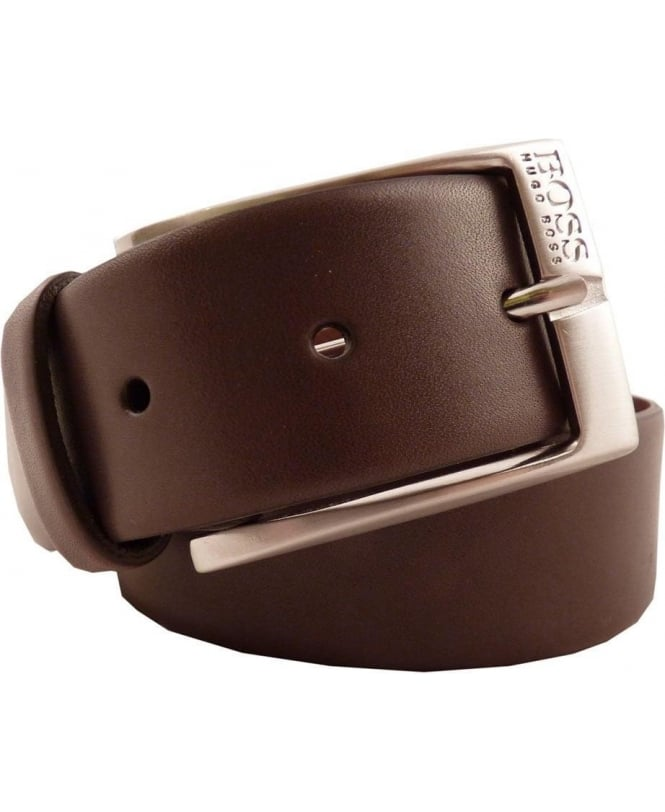 Hugo Boss Dark Brown 50245595 Eberio 35mm Belt