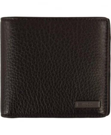 Hugo Dark Brown 'Element_8' Wallet