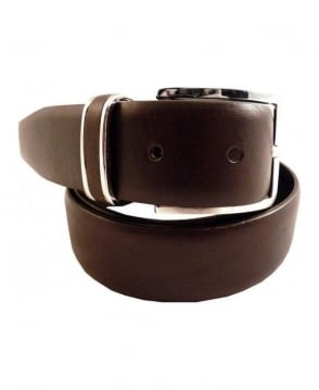 Hugo Boss Dark Brown Froppin Belt