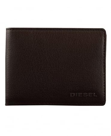 Diesel Dark Brown Hiresh Leather Wallet