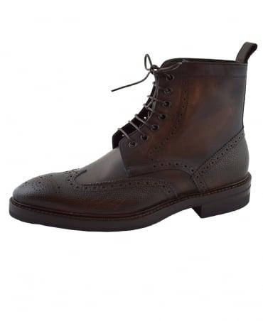 Paul Smith  Dark Brown Raven Boot