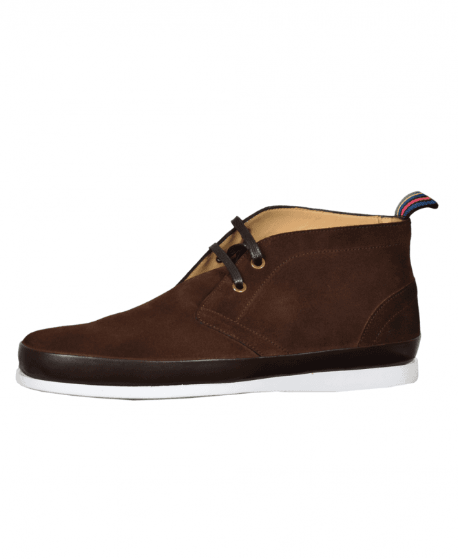 3a15ff47a210 Paul Smith Dark Brown Suede 'Cleon' Boots - Shoes from Jonathan ...