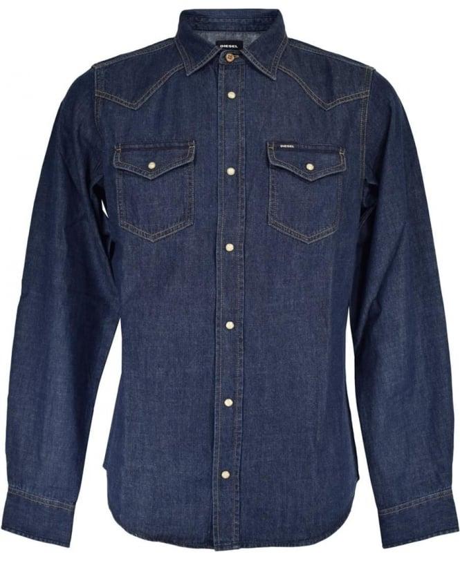 Diesel Dark Denim New Sonara-E Shirt