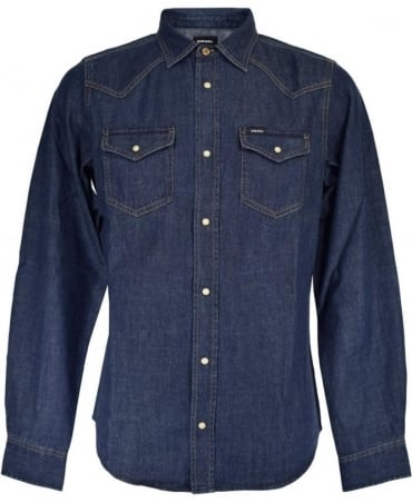 Diesel Dark Denim New Sonara-E Shirt
