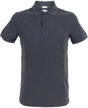 Armani Collezioni Dark Grey 3XCF89 Short Sleeve Polo