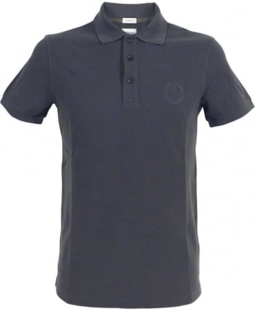 Armani Dark Grey 3XCF89 Short Sleeve Polo