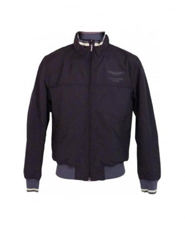 Hackett Dark Grey AMR Race Blouson Jacket