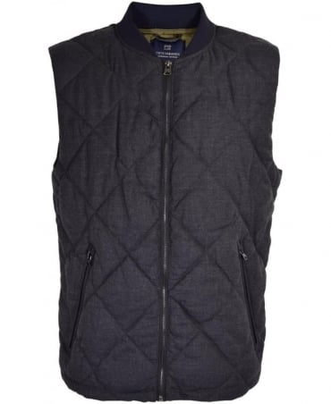 Scotch & Soda Dark Grey Blouson Gilet