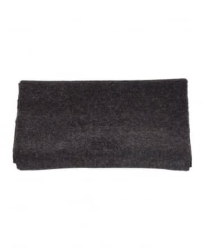 Hugo Boss Dark Grey Cashmere Scarf