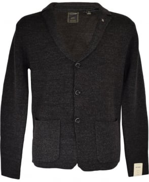 Scotch & Soda Dark Grey Knitwear Cardigan