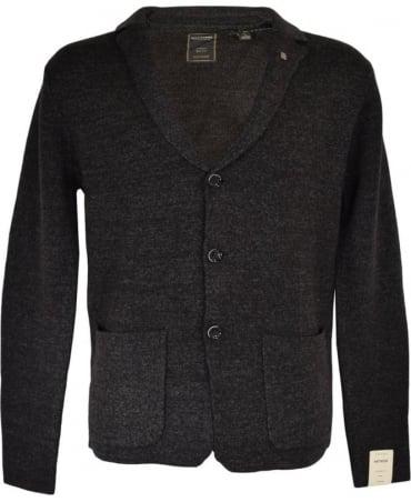 Scotch & Soda Dark Grey Knitwear Cardigan