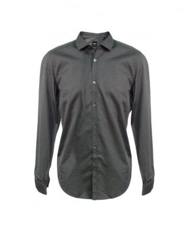 Hugo Boss Dark Grey Lorenzo 50253418 Shirt