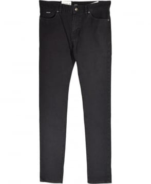 Hugo Boss Dark Grey 'Maine3-20' Regular Fit Stretch Jean
