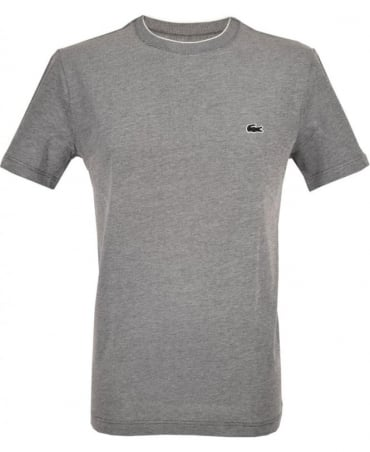 Lacoste Dark Grey TH5006 Crew Neck T-Shirt