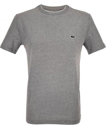 Lacoste Dark Grey TH5006 Crew Neck T-Shirt