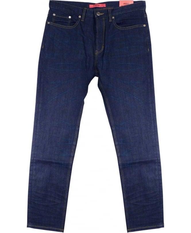 Hugo Dark Indigo 50297965 677/38 Regular Fit Jeans