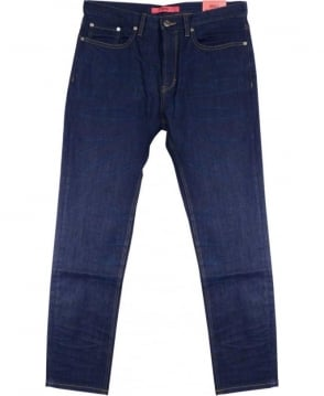 Hugo Dark Indigo 50297965 677/38 Regular Fit Jeans