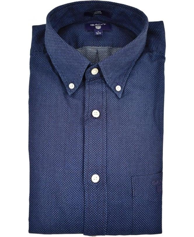 4848df0a887 Gant Dark Indigo Button Down Collar Shirt - Shirts from Jonathan ...