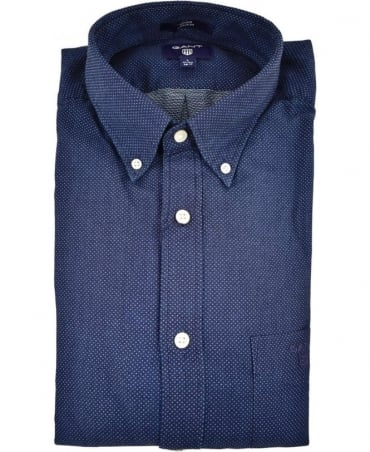 Gant Dark Indigo Button Down Collar Shirt