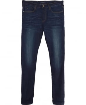 Scotch & Soda Dark Indigo Ralston Beaten Track Regular Slim fit Jeans