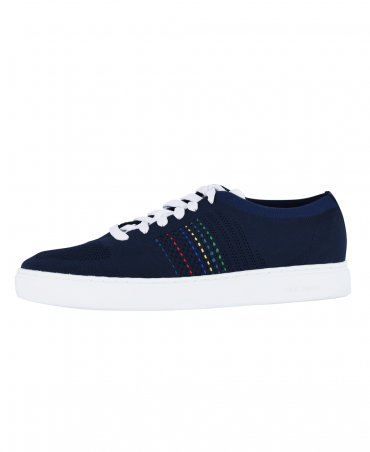 Dark Navy Doyle Knitted Trainers