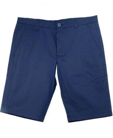 Hugo Dark Navy Han02 Regular Fit Shorts