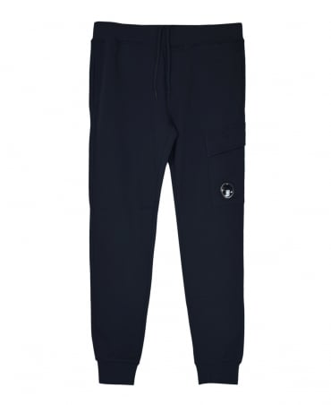 CP Company Dark Navy Lens 03CMSS053A Sweat Pants