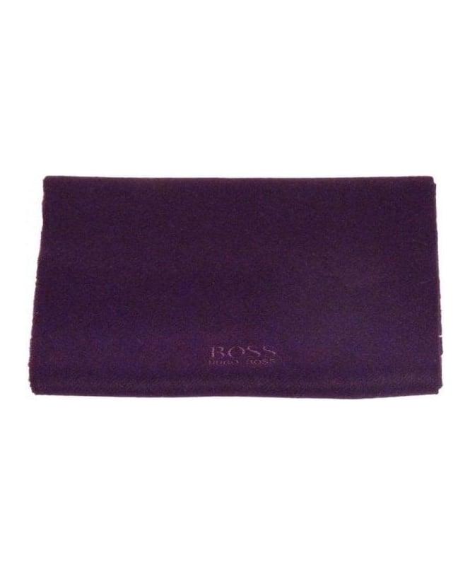 33b11cbf4 Boss Dark Purple Cashmere Scarf - Accessories from Jonathan Trumbull UK