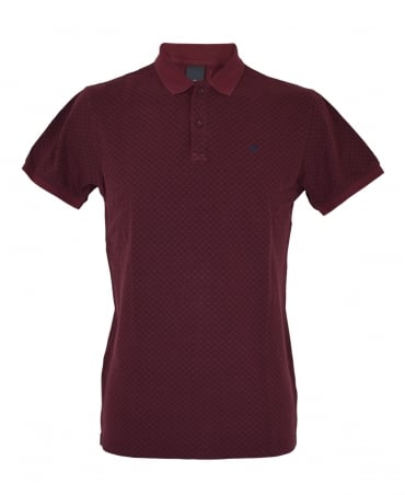 Scotch & Soda Dark Red 139762 Polo Shirt