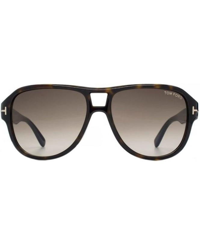 bcd97c7b09b Tom Ford Dark Tortoise Shell Dylan Aviator Sunglasses - Sunglasses ...