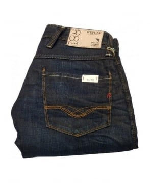Replay Dark Wash Anbass Jeans