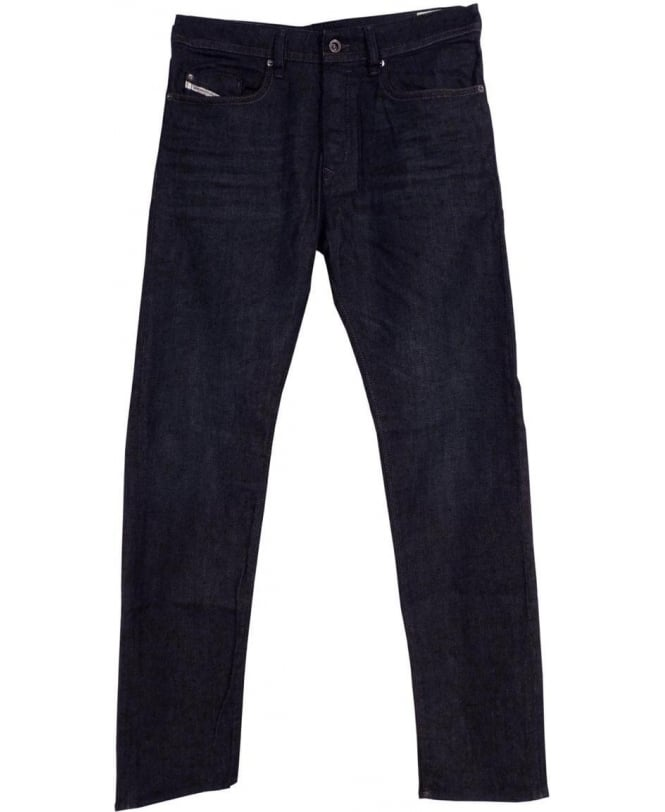 a2e4d0a4 Diesel Dark Wash Buster 0845G Stretch Regular Slim Tapered Jeans ...