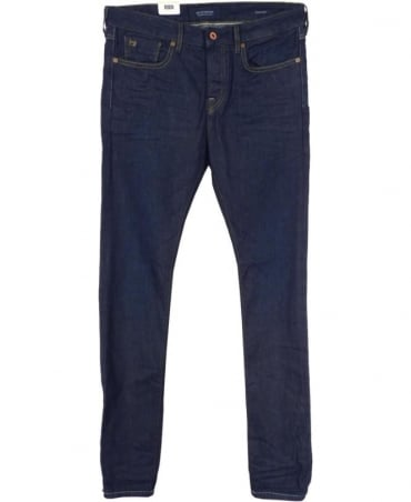 Scotch & Soda Dark Wash 'Ralston' Regular Slim Fit Jeans